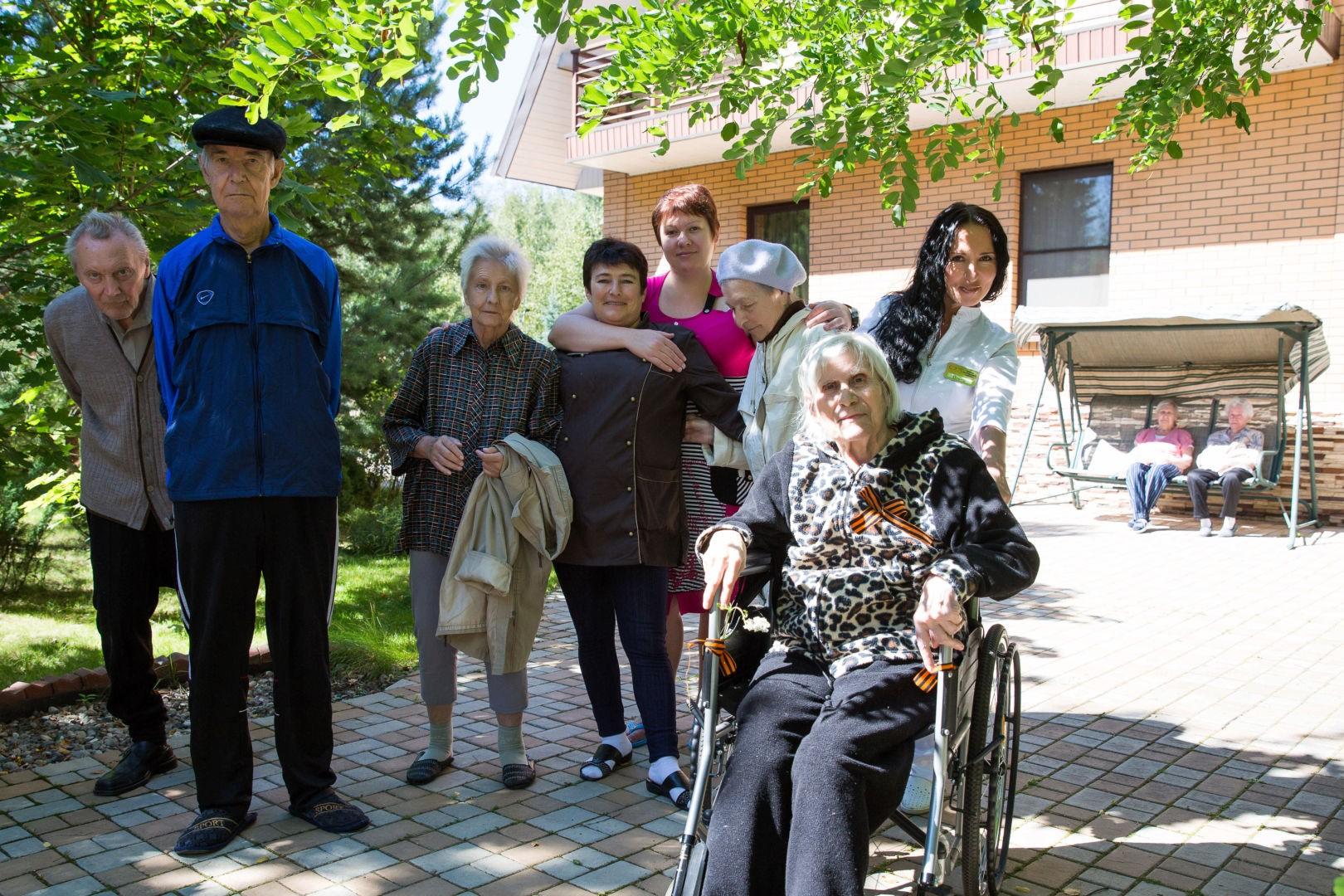 Дом престарелых ювао педикюр на дому в москве для пожилых объявления частные
