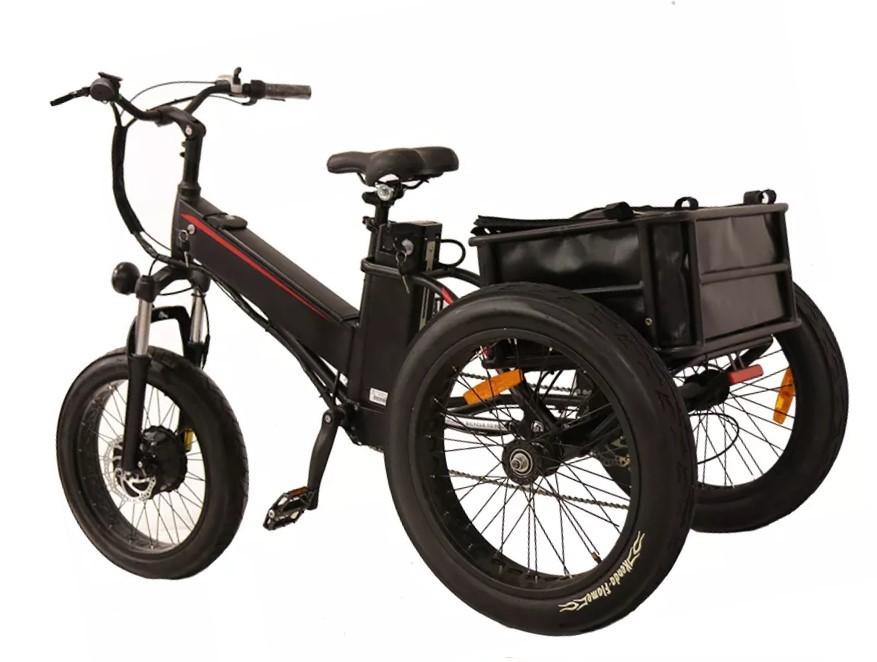 велосипед с 3-мя колёсами