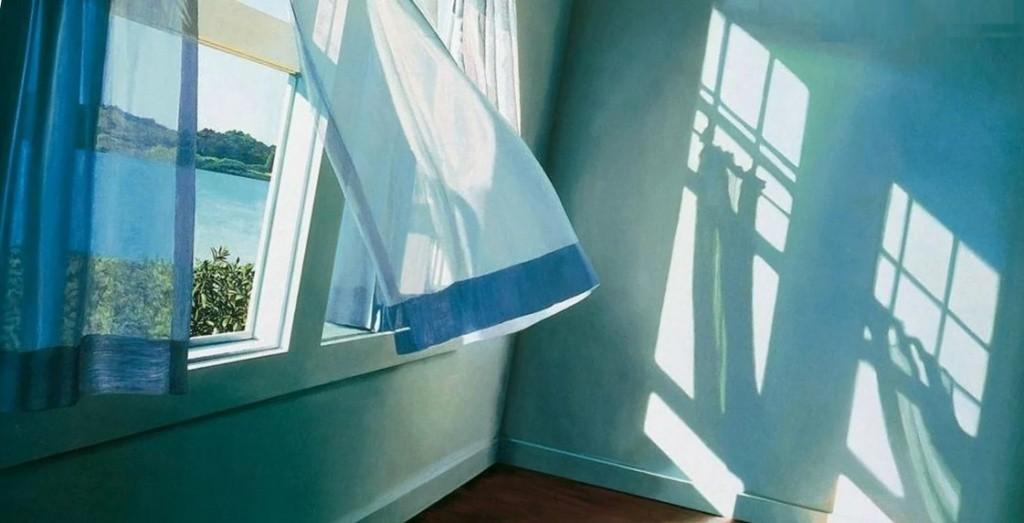 проветривание комнаты через открытое настежь окно